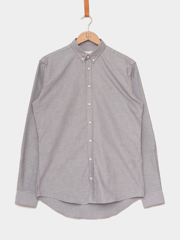 Les Deux / Windsor Oxford Shirt | Grey