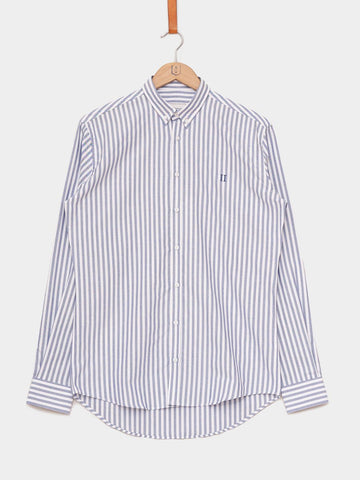Les Deux / Windsor Oxford Shirt | Navy White