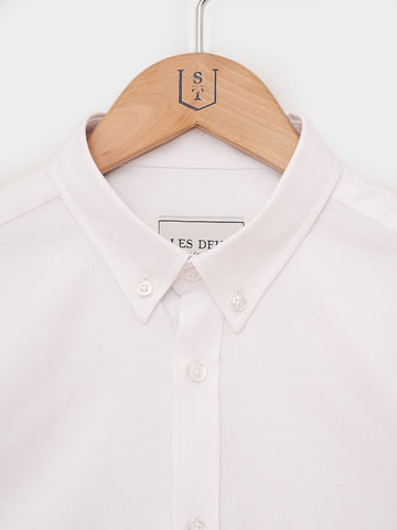 Les Deux / Windsor Oxford Shirt | White