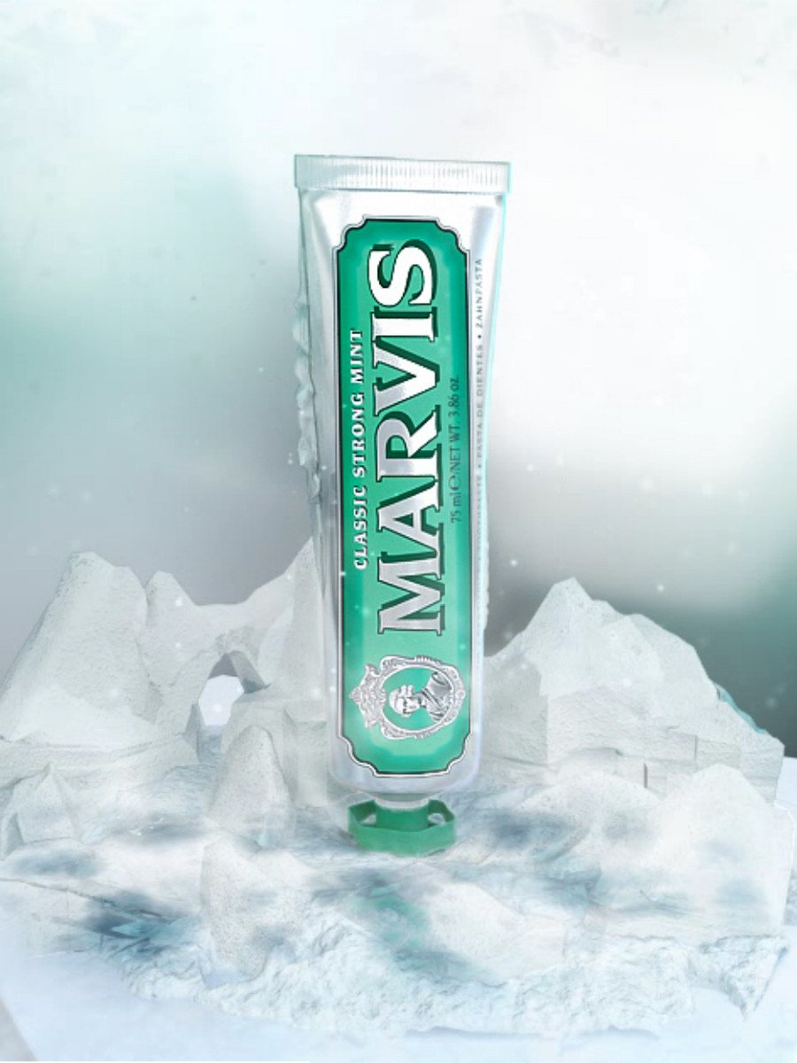 MARVIS / Classic Strong Mint | 75ml - stvalentin.dk - 2