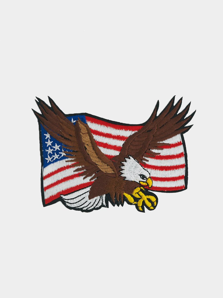 Iron Patches / American Eagle Flag