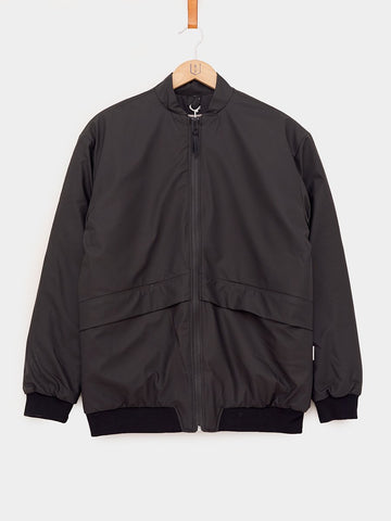 RAINS / B-15 Bomber Jacket | Black