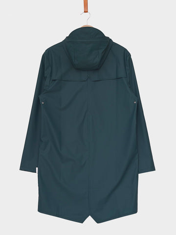 RAINS / Long Jacket | Dark Teal