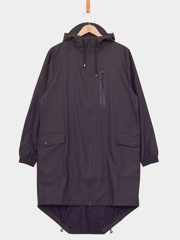 RAINS / Parka Coat | Black