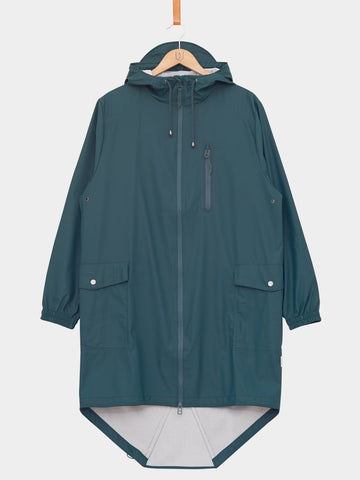 RAINS / Parka Coat | Dark Teal