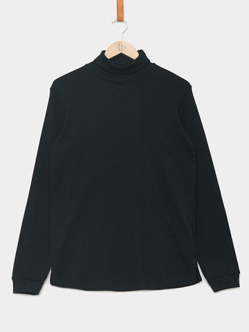 Revolution / Long Sleeve Turtleneck Tee | Black