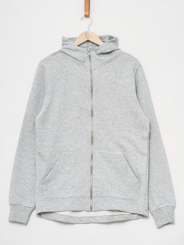 Revolution / Hoodie Zip Sweat | Light Grey