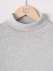 Revolution / Long Sleeve Turtleneck Tee | Light Grey - stvalentinshop.dk - 2