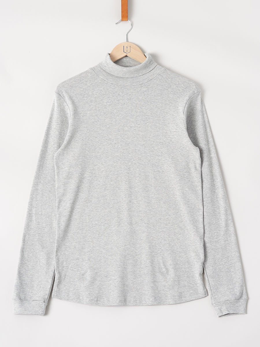 Revolution / Long Sleeve Turtleneck Tee | Light Grey - stvalentinshop.dk - 1