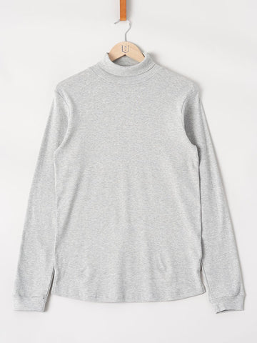 Revolution / Long Sleeve Turtleneck Tee | Light Grey
