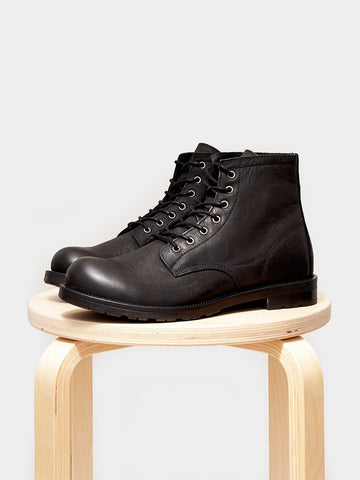 Shoe the Bear / Mason Leather | Black