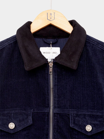 Wood Bird / Kain Corduroy Jacket | Navy