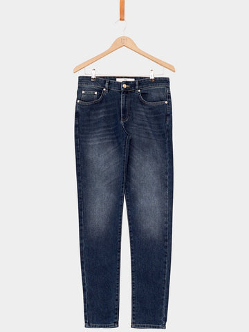 Won Hundred / Dean New A Jeans | Dark Blue Trash - 1