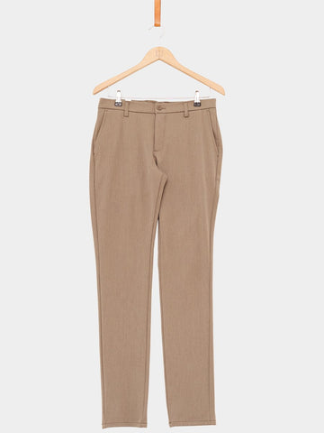 Wood Bird / Steffen Melange Pants | Desert