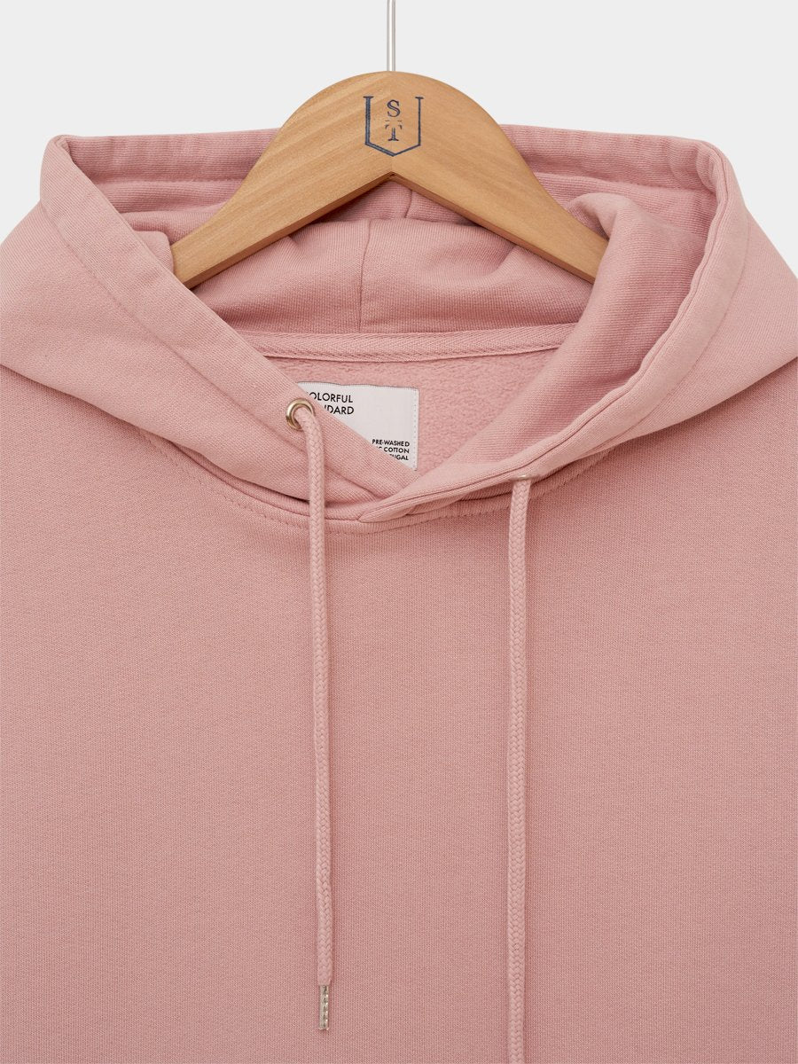 Colorful Standard / Classic Organic Hoodie | Faded Pink -1