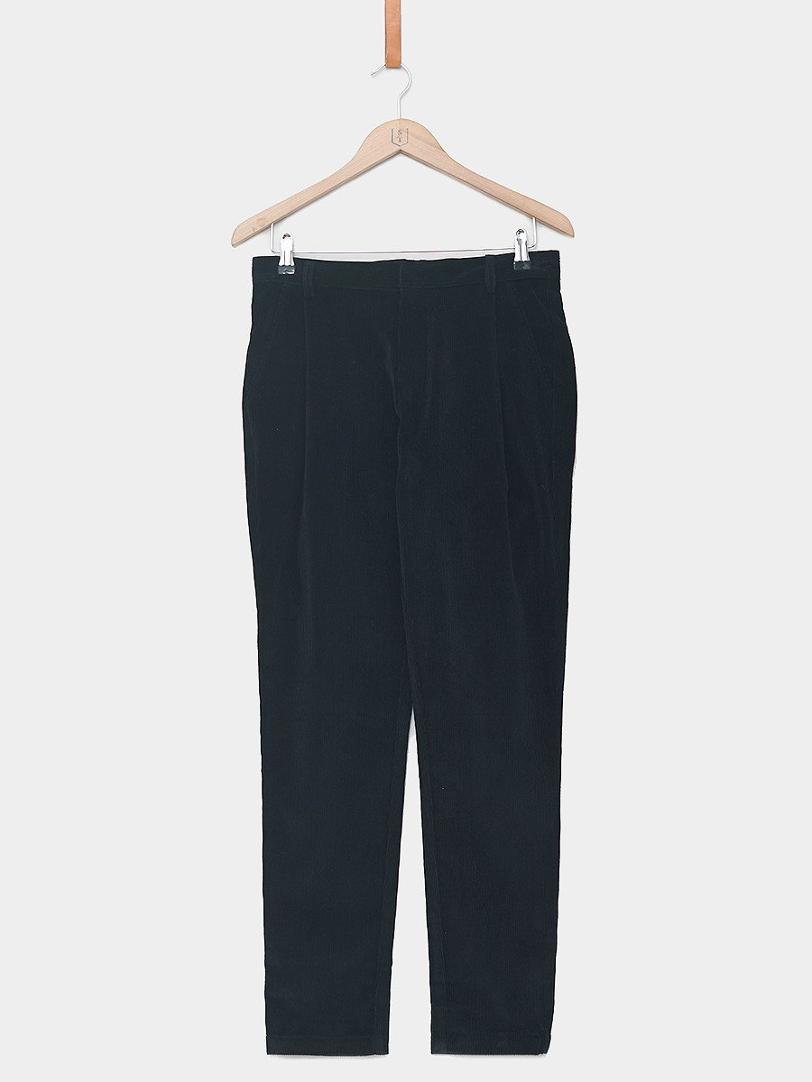 Uncle Bright / Vincent Pants | Black Corduroy