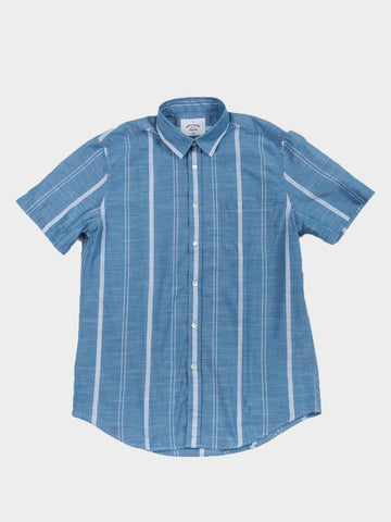 Portuguese Flannel / Céu Short Sleeve Shirt | Light Blue
