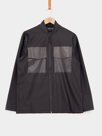 RAINS / Warrant Jacket LTD | Black Shadow