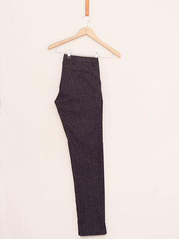Wood Bird / Steffen Gentle Pants | Black Melange