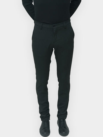 Wood Bird / Steffen Twill Pants | Dark Grey