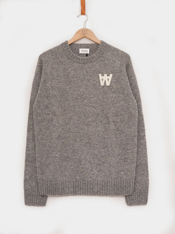 Wood Wood / Kevin Sweater | Light Grey
