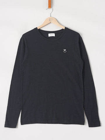 WOOD WOOD / Peter Longsleeve | Black
