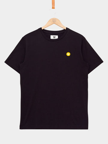 Wood Wood / Ace Tee | Black