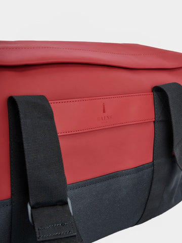 RAINS / Duffel Bag | Scarlet