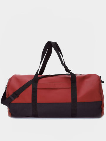 RAINS / Travel Duffel Bag | Scarlet