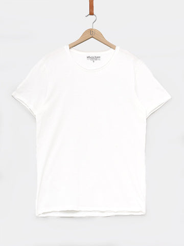 BREAD & BOXERS / Crew-Neck Relaxed T-shirt | White
