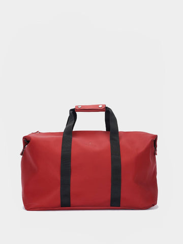 RAINS / Weekend Bag | Scarlet
