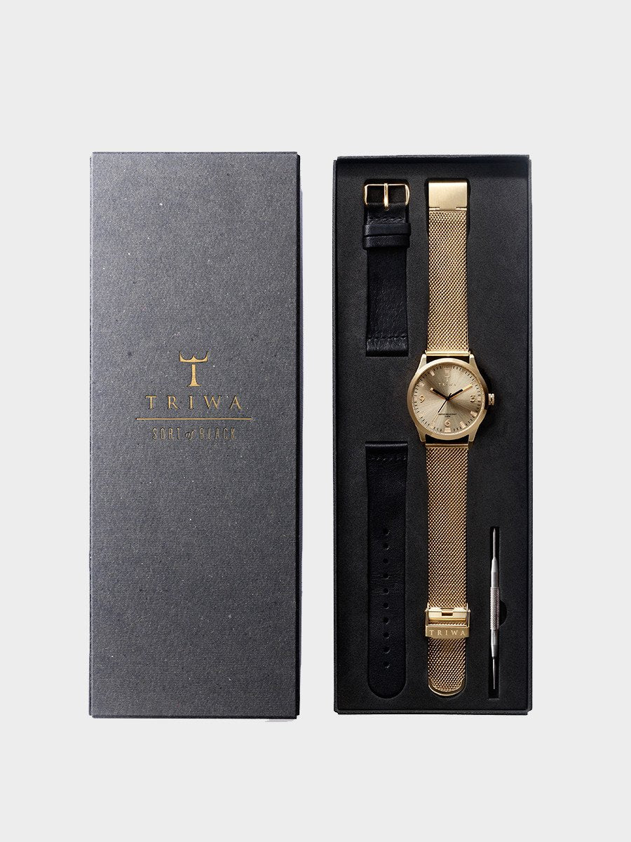 TRIWA / Sort Of Black | Gold - stvalentin.dk - 5
