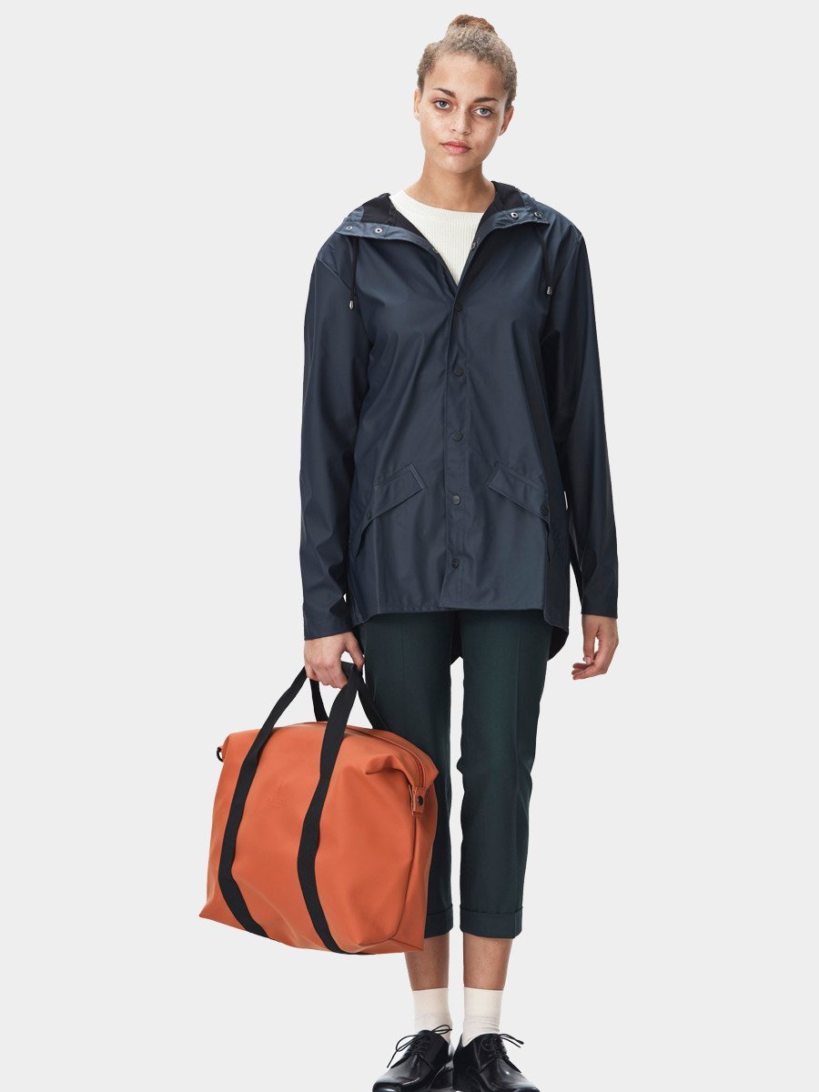 RAINS / Zip Bag | Rust