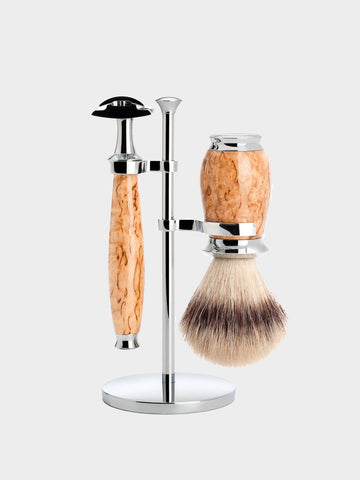 MÜHLE / Purist Shaving & Brush Holder | Chrome Plated - stvalentin.dk - 1