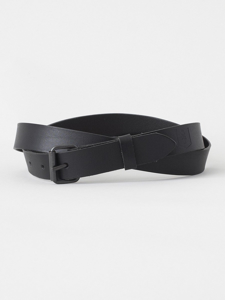 S.T. VALENTIN / Leather Belt | Black - stvalentinshop.dk - 1