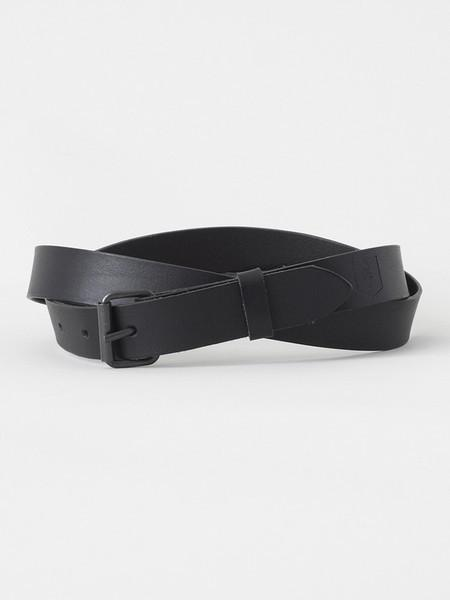 S.T. VALENTIN / Leather Belt | Black - stvalentinshop.dk - 2