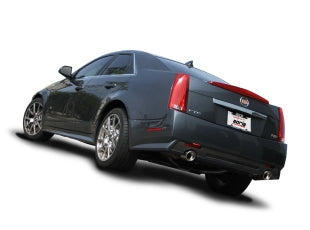 Borla Type-S axle back exhaust system Cadillac CTS v sedan tips