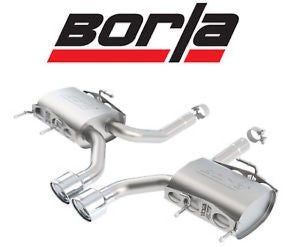 Borla Type-S catback exhaust system Cadillac CTS v coupe tips