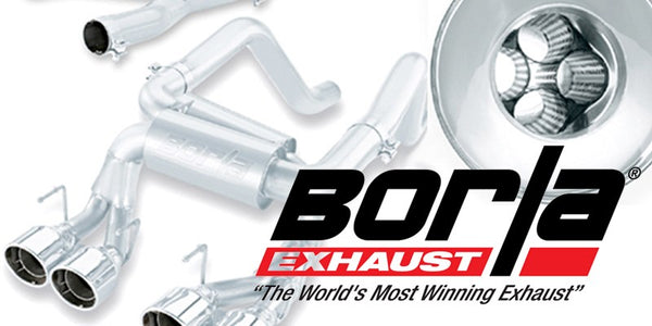 Borla Type-S catback exhaust system Cadillac CTS-V coupe and sedan
