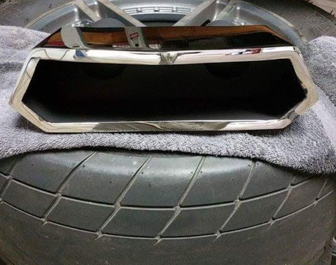 cadillac cts-v coupe custom aventador single outlet exhaust tip