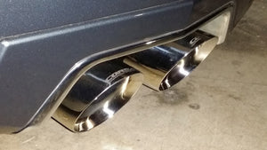 Corsa 11-15 Cadillac CTS-V Coupe 6.2L V8 Axle-Back Exhaust - 4JTT Performance