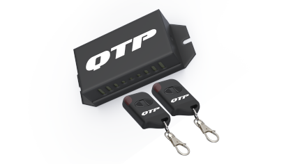 Wireless controller kit for QTP exhaust cut-outs