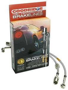 Goodridge 09-15 CTS-V (5 Line Kit) Stainless Steel Braided Brake Lines - 4JTT Performance