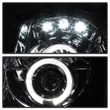 05-07 JEEP SRT8 PROJECTOR HEADLIGHTS WITH LED'S & HALO'S