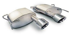 Corsa 09-15 Cadillac CTS Sedan V 6.2L V8 Axle-Back Exhaust - 4JTT Performance