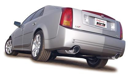 V1 CTS-V BORLA S TYPE STAINLESS STEEL CAT-BACK EXHAUST