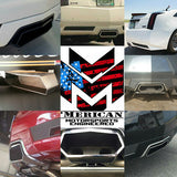 MME custom Cadillac cts-v coupe Aventador exhaust tip