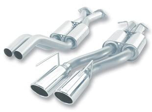 Borla 06-10 Jeep Grand Cherokee SRT8 S-Type Catback Exhaust - 4JTT Performance