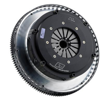 CLUTCH MASTERS TWIN DISC W/ 8.50 INCH. (RACE) STEEL FLYWHEEL & HYDRAULIC SLAVE CYLINDER