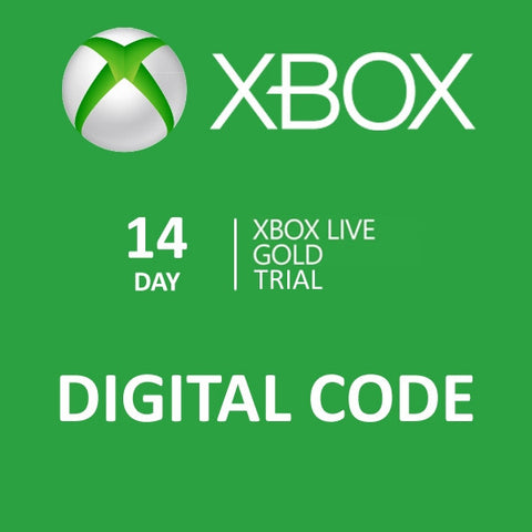 XBOX LIVE GOLD 14 DAYS SUBSCRIPTION